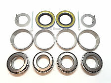 Trailer Hub Wheel Bearing Kit L44643 Seal 1.250'' for 2000# EZ Lube Axles 1.00''