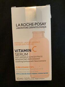 (New) La Roche-Posay  Pure Vitamin C Face Serum, 1.0 oz Exp 6/23