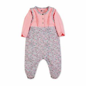 Sterntaler 2602001*  Gr.56 * Baby Strampler Set Jersey Maus Mabel rosa NEU/OVP