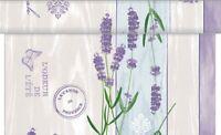 Tischläufer Lavinia aus Linclass® Airlaid 40 cm x 24 m - Lavendel Tischtuch