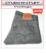 "VINTAGE LEVIS 527'S BOOTCUT RAW CUT JEANS  W34"" L30"" APROX SIZE UK 14  (T113)"