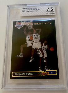 1992-93 UPPER DECK 1 SHAQUILLE O'NEAL SP BGS 7.5 RC ROOKIE CARD SHAQ