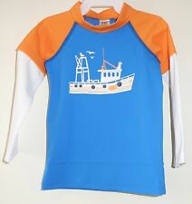 Brand New Baby Boden Rash Guard Boy's Size 6-12 Month ~ Cute