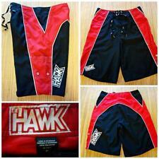 cdfb89d3a1 TONY HAWK Men's Size 30 BOARD SHORTS SWIM TRUNKS - Black Red White
