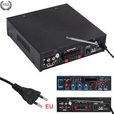 800W Bluetooth HIFI Amplificador Audio Estéreo Micro FM Radio SD TF Mic BT-309A