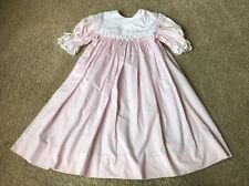 Magnolia Avenue Dress Sz 6 X Light Pink Lace Bishop Sleeve Party Easter Wedding