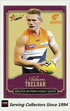 2014 SELECT AFL CHAMPIONS GOLD PARALLEL CARD CG110 ADAM TRELOAR -GWS