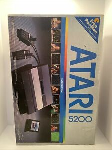Atari 5200 Super System BOX With Manuals Pamphlets No system - BOX ONLY