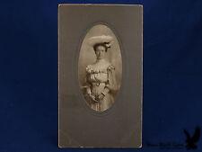 A.C. Isaacs Eau Claire Wisconsin Photo Portrait Young Woman Lady BIG HAT Glasses