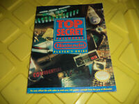 Nintendo Top Secret Passwords Player's Guide 1992 Strategy NES SNES
