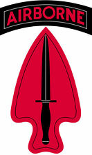 Enmarcado Us Military Insignia impresión – Us Army Commando (imagen Cartel De Lucha)