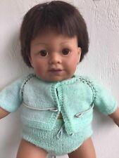 Vintage 1985 Hasbro Judith Turner Real Newborn Aa Baby Doll