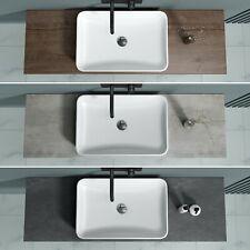 Holzplatte Waschtischkonsole Waschtischplatte Aufsatzwaschbecken 45cm 50cm