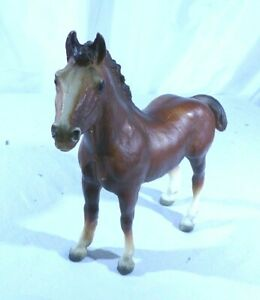 "Breyer "" ClydesdaleFoal, Intro 1969, 9x8,Collectible,( 2 available) # 7181"