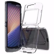 For Motorola Razr 5G 2020, Shockproof Acrylic Clear Hard Case Soft Bumper Cover