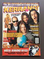 KERRANG MAGAZINE #529 Jan 1995 Terrorvision / Black Crowes / Guns N' Roses Pinup