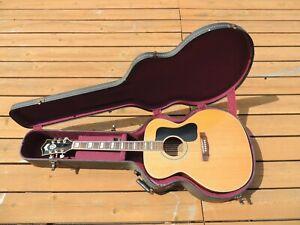 Vintage 1977 Takamine F-390S Jumbo Acoustic Guitar Guild Lawsuit w/HSC