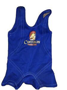 Titan Super Centurion Squat Suit 36-38 Blue Wide Stance