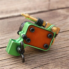 Rotary Tattoo Machine Gun Brass Frame Japan Motor (green)