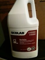 Ecolab revitalize carpet,upholstery cleaner 1 gallon