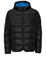 JACK & JONES Men's Polyester Hooded Zip Coats & Jackets