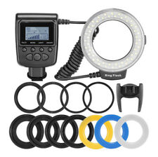 Macro LED Ring Flash Light for Canon Nikon Pentax Olympus Panasonic DSLR Hot