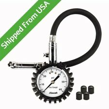 Tire Pressure Gauge, Heavy Duty Accurate Tire Gauge for Car, Motorcycle, Truck