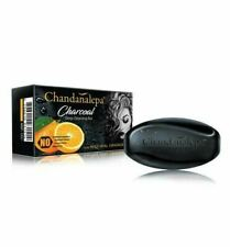 Chandanalepa Activated Charcoal Ayurveda Cleansing Pure Natural Beauty Soap