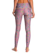 Teeki Women's Yoga Leggings Hot Meadow Hot Pant Leggings Small Pilates USA