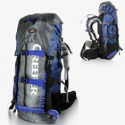 65L Waterproof Outdoor Sports Camping Travel Hiking Bag Internal Frame Backpack