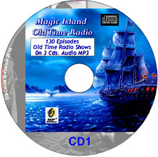 Magic Island - Old Time Radio Shows - All 130 Episodes  on 3 CDs MP3 OTR