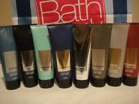 Bath and Body Works For Men Signature Ultra Shea Body Cream 8 fl oz  You Choose