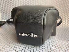 Minolta Hi-Matic 7S-II Original Leather Case EX+ Works Great