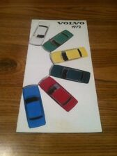 1972 Volvo Catalog Brochure 164E 142E 144E 145E 1800E 1800ES Excellent Original