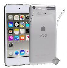 Housse etui coque gel fine pour Apple iPod Touch 5 + verre trempe - TRANSPARENT