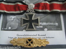 WW2 WWII General Field Marshall Knights Cross Silver Diamonds German Medal Set