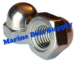 """Type 18-8 Stainless Steel Acorn Nuts / Cap Nuts (sizes 6-32 to 1/2"""")"""