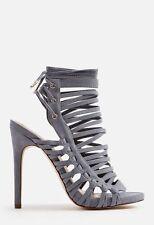 Just Fab Andreja Shoes in Slate UK 4 EU 36.5 JS34 32