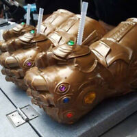 Thanos Infinity Gauntlet Glove Cup Container Infinity War Gift Prop Cosplay