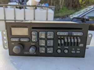 98 PONTIAC GRAND PRIX RADIO AM/FM CD PLAYER. 16265542 Head unit