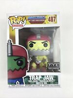 Funko Pop! Masters Of The Universe Trap Jaw 487 FYE Exclusive Vinyl Figure New