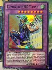 Yu-Gi-Oh Elemental HERO Tempest lcgx-de048 nm.de 1.oder 2.aufl SR