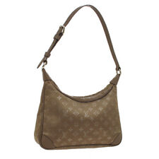 LOUIS VUITTON LITTLE BOULOGNE HAND BAG SR0031 MONOGRAM SATIN M92143 AUTH S09617
