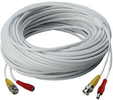 Lorex 120 ft. High Performance In-Wall UL/cUL Rated BNC Video/Power Cable for