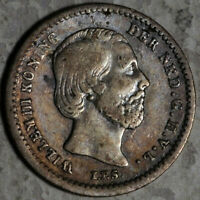 NETHERLANDS SILVER 5 CENTS 1850 (LOT #13)