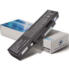 Batterie 4400mAh pour FUJITSU SIEMENS Esprimo Mobile V-5535 V-5555