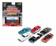 AUTO WORLD 1:64 RACING CHAMPIONS MINT RELEASE 2 VERSION C DIECAST CAR SET RC002C