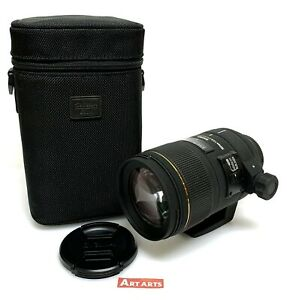 【 EXCELLENT in CASE 】 Sigma 150mm F/2.8 APO MACRO DG HSM Lens Nikon F from JAPAN