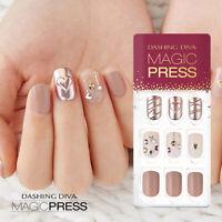 [DASHING DIVA] Magic Press Gel Nail Art Instant Manicure 30 pcs SHINING WREATH