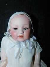 "Antique Bisque Head Doll Nippon 11.50"" Tall Composition Body"